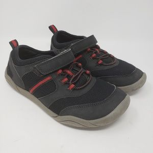 Kids Lands' End water shoes black red size 4 SALE
